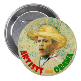 Artistas para Obama: Vincent van Gogh Pins
