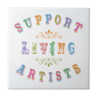 Artistas vivos de la ayuda tejas  cerámicas
