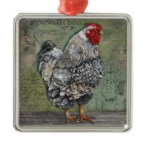 Artiste Hen 2 Ornament