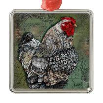 Artiste Hen Ornament