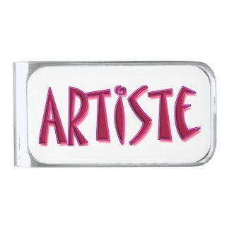 Artiste Silver Plated Money Clip