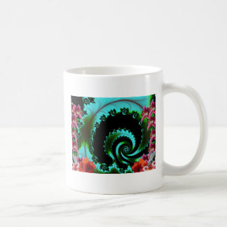 Artistic Abstract Classic White Coffee Mug