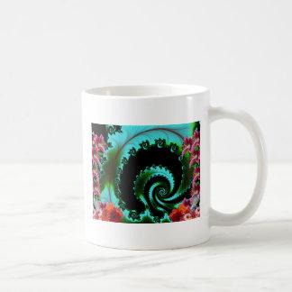 Artistic Abstract Classic White Coffee Mug