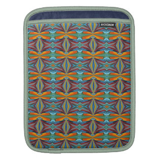 Artistic Abstract  Rainbow of Colors Design Sleeve For iPads