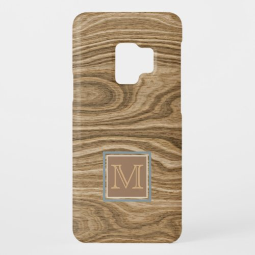 Artistic Abstract Tree Wood Grain Pattern Custom Phone Case