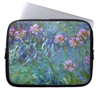 Artistic Agapanthus Fine Art Flowers Computer Sleeve