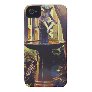 Artistic Angel of Light Birdbath iPhone 4 Case