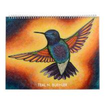 Artistic Animal Calendar