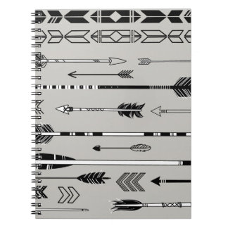 Artistic Arrows Collection Spiral Notebooks