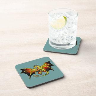Artistic attitude colorful dragon coasters