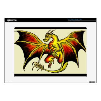 Artistic attitude dragon fantasy laptop cover skin laptop decal