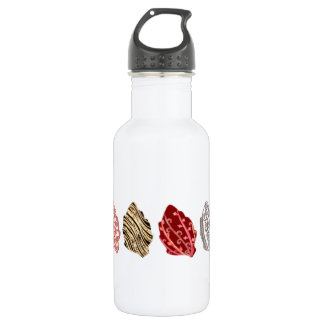 Artistic Autumn Leaves Water Bottle