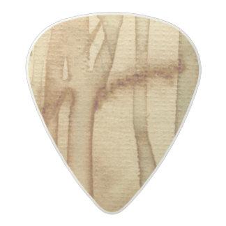 Artistic background watercolor 2 acetal guitar pick