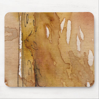 Artistic background watercolor mouse pad