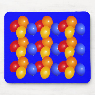 Artistic balloons mouse pad