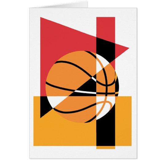 Artistic Basketball Card