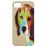 Artistic Beagle iPhone 5 Cases