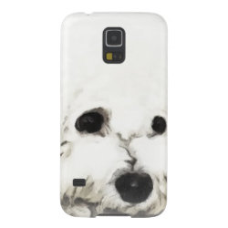 Case-Mate Barely There Samsung Galaxy S5 Case with Bichon Frise Phone Cases design