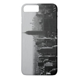 Artistic Black White New York iPhone 7 Plus Case
