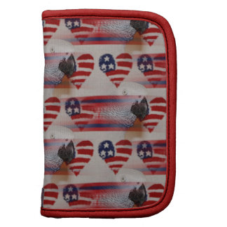 Artistic Blurry 4th of July African Grey Planners