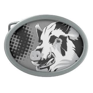 Artistic Boar Hog Belt Buckle