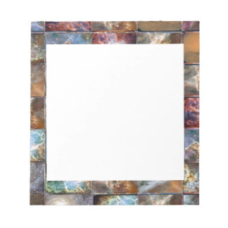 Artistic Border -  Add your text or Image Note Pad