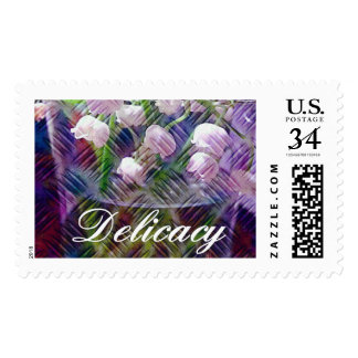 Artistic Botanical Lily of the Valley Floral Postage