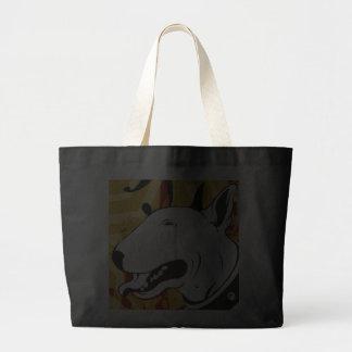 Artistic Bull Terrier Dog Breed Design Bag