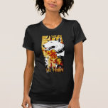 Artistic Bull Terrier Dog Breed Design Tee Shirts