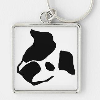 Artistic bulldog Keychain