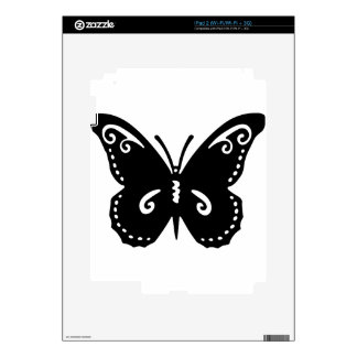 Artistic Butterfly Decals For The iPad 2