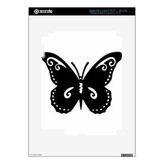 Artistic Butterfly iPad 3 Decal