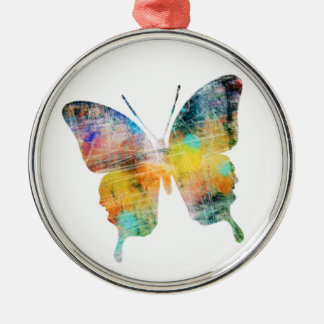 Artistic Butterfly Metal Ornament