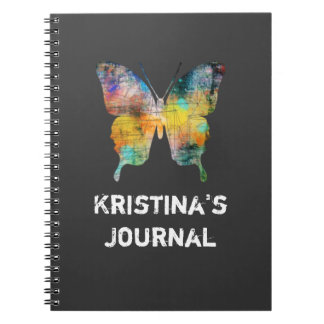 Artistic Butterfly Note Books