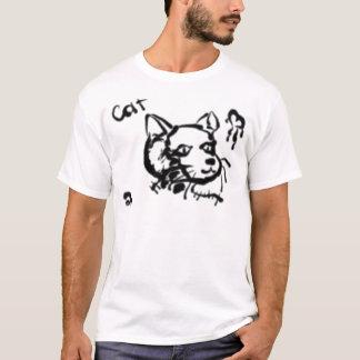 Artistic Cat T-Shirt