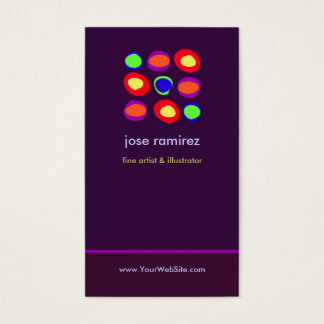 Artistic Circles Business Cards