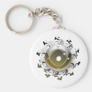 Artistic Clock Keychain