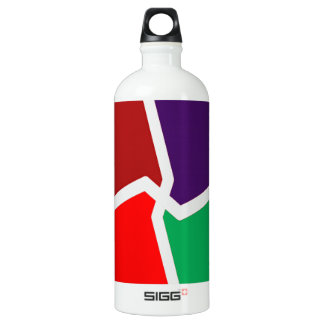 ARTISTIC Color Graphic INTENSE Energy Water Bottle