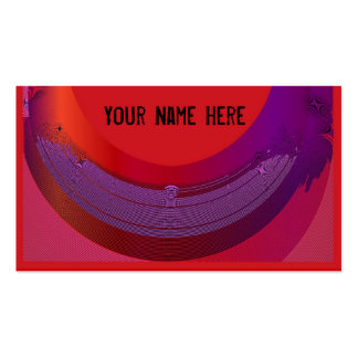 Artistic color spill customizable cards