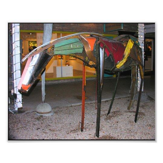 Artistic Colorful Horse Art Photo Print