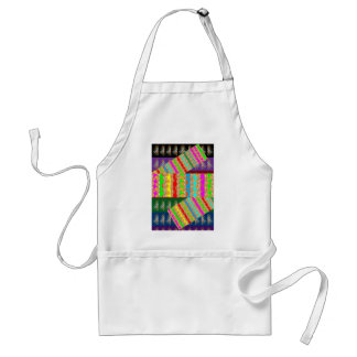 ARTISTIC Colorful Patch work: Great Gift OCCASIONS Adult Apron