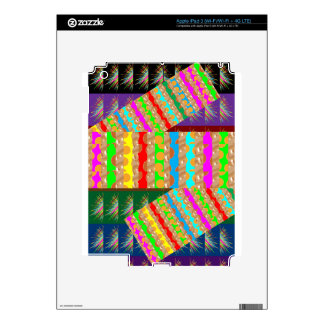 ARTISTIC Colorful Patch work: Great Gift OCCASIONS Skin For iPad 3