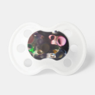 Artistic Colorful Pebbles - abstract art photo Baby Pacifiers