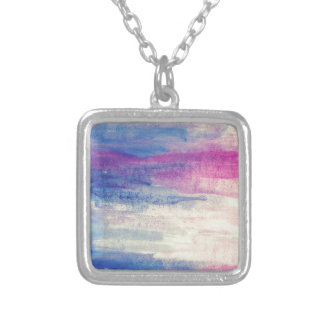 Artistic Colours Silver Plated Necklace