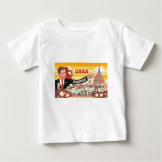Artistic commentary on direction of country tshirt