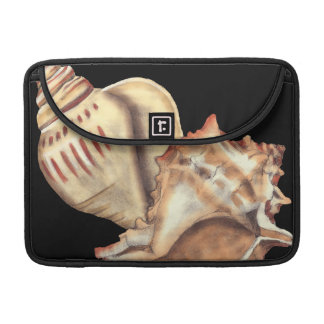 Artistic Conch Shells Sleeve For MacBook Pro