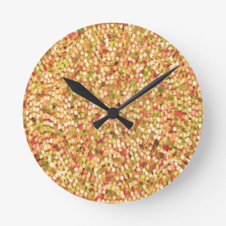 Artistic Confetti Template DIY Add Text IMG gifts Clock