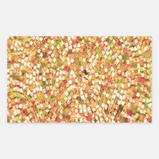 Artistic Confetti Template DIY Add Text IMG gifts Rectangular Sticker