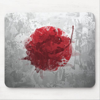 Artistic Cool Japanese Flag Mousepad