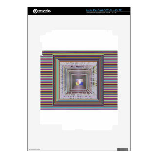 ARTISTIC Cosmic Infinity ART Light end of Tunnel Skins For iPad 3